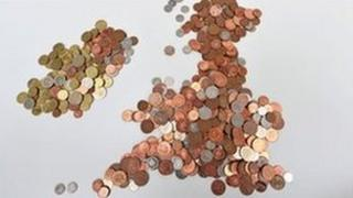 UK in coins