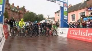 Tour of Britain in Carlisle in 2012