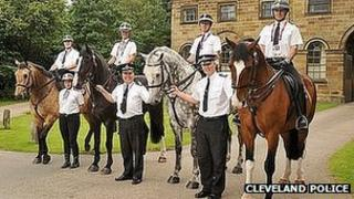 Cleveland Police mounted section