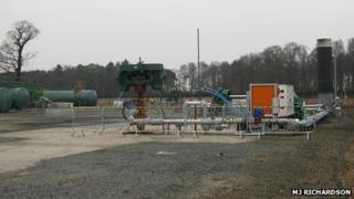 Dart Energy project near Airth