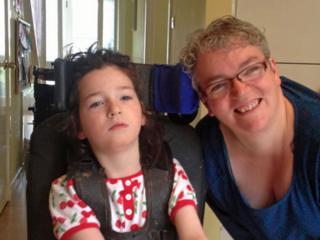 Sonia McGrath and her daughter Eilidh