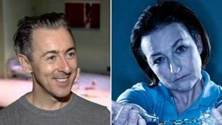 Alan Cumming and Blythe Duff won the best actor awards