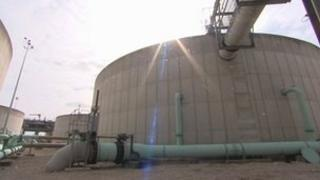Saltend water treatment plant