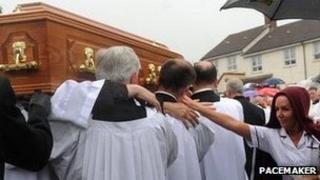 Fr Matt Wallace funeral