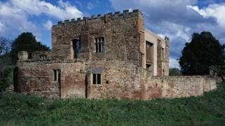 Astley Castle in Nuneaton, Warwickshire