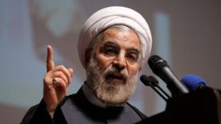 Hassan Rohani, a candidate in the presidential race
