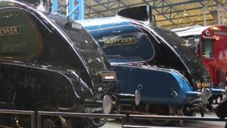 Mallard at National Railway Museum in York