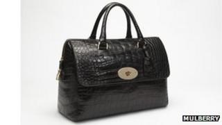 Mulberry black Del Rey handbag
