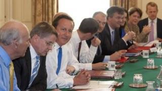 Coalition cabinet, September 2012