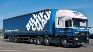 Bill Chippington Haulage lorry