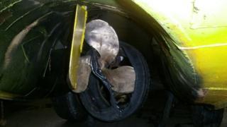 Tyre and duckmarine