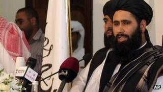 Taliban spokesman Mohammed Naeem opened the Doha office