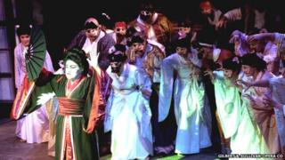 Gilbert & Sullivan Opera Co performing The Mikado
