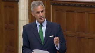 South Dorset MP Richard Drax