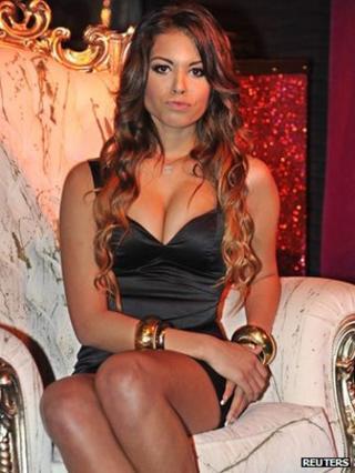Karima El Mahroug, the young woman whom Italian prosecutors allege PM Silvio Berlusconi paid for sex