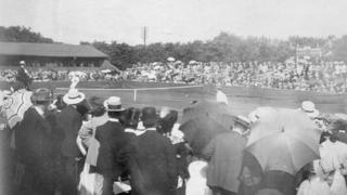 A major tournament in 1907 approx.