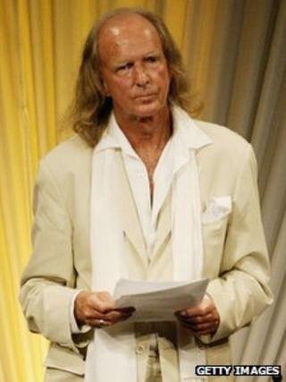 Sir John Tavener in 2005