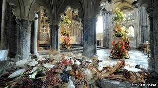 Ely Cathedral Flower Festival 2013