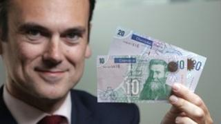 New bank notes