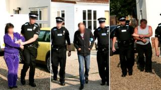 Arrests in Clacton and Colchester