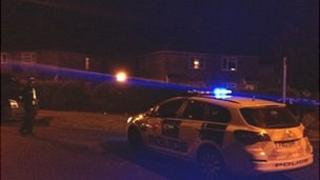Police activity in the area off Moorland Avenue, Lincoln