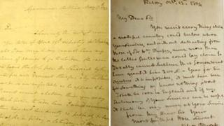 Admiral Lord Nelson's two letters