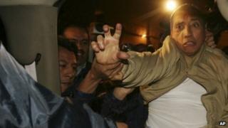 Mario Villanueva's arrest in 2007