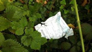 Hertfordshire County Council papers found on street in Hatfield
