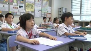 Students in Hong Kong