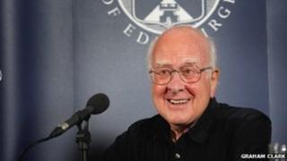 Professor Peter Higgs