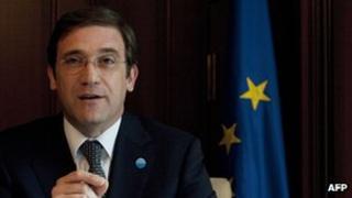 Portugal PM Pedro Passos Coelho