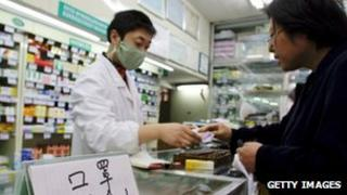 A pharmacy in China