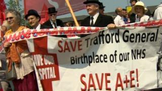 Trafford General Hospital campaign