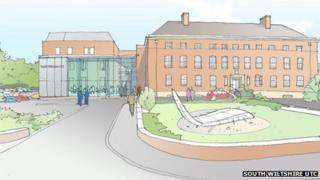 Artist's impression of the UTC
