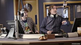 Scene from Alpha Papa starring Steve Coogan as Alan Partridge