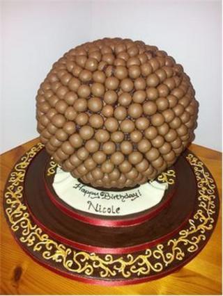 Jayne Nantel's birthday cake for Nicole Scherzinger