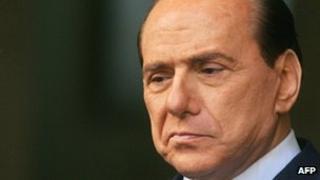 Silvio Berlusconi. File photo