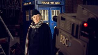 David Bradley as William Hartnell