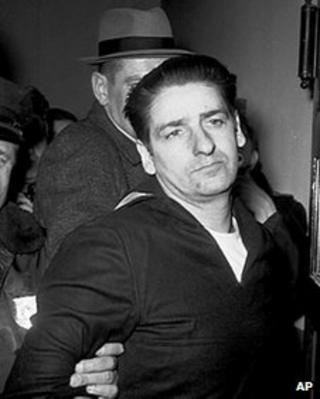 Albert DeSalvo after his arrest in 1967