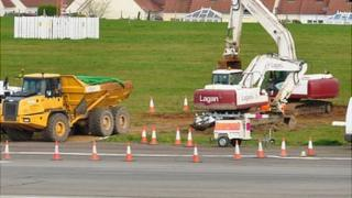 Contaminated soil removed from Guernsey Airport runway