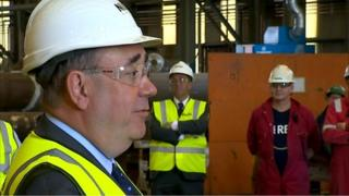 alex salmond in nigg