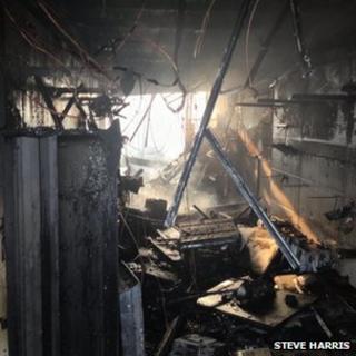 Ward End fire