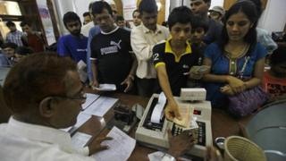 "Many Indians sent their ""nostalgic last telegram"" on Sunday"