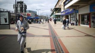 Corby, 'youth unemployment capital', spring 2013