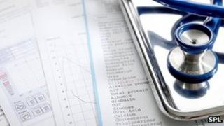 Medical notes and equipment