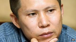 File photo: Legal scholar Xu Zhiyong