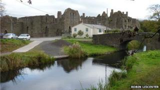 Neath Abbey and Tennant Canal