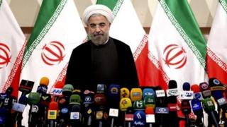 Hassan Rouhani, file pic from June 2013