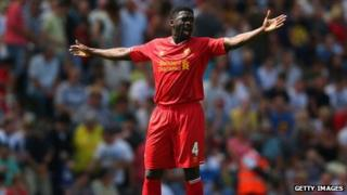 Kolo Toure of Liverpool