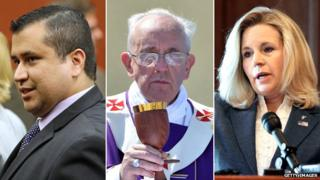 George Zimmerman, Pope Francis, Liz Cheney